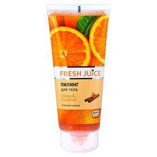 Fresh Juice пілінг для тіла Апельсин і Кориця 200 мл  - Фото