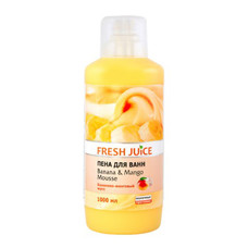 Fresh Juice пена для ванн Бананово-манговый мусс 1000 мл