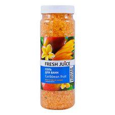 Fresh Juice соль для ванн Caribbean Fruit 700 г