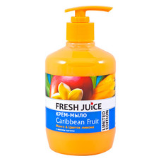Fresh Juice крем-мыло Caribbean Fruit 460 мл