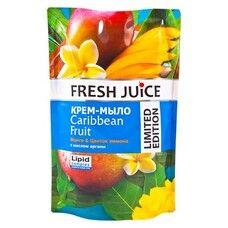 Fresh Juice крем-мыло дой-пак Caribbean Fruit 460 мл