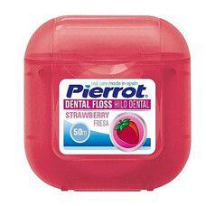 Зубна нитка Полуниця Pierrot 50 м  - Фото