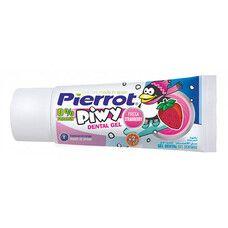 Дитячий зубний гель Піві з полуничним смаком Pierrot 30 мл  - Фото