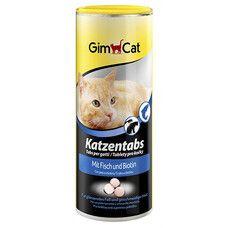 Витамины для кошек GimCat рыба и биотин 710 шт - Фото