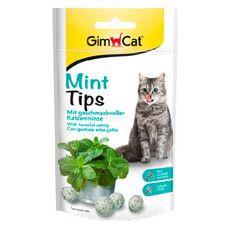 Витаминизированное лакомство с кошачьей мятой Cat-Mintips 40 г - Фото