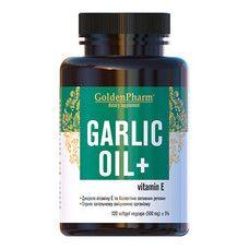 Чесночное масло 500 мг капсулы №120