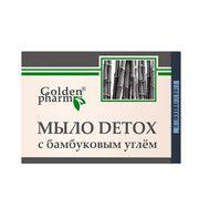 Мыло DETOX с бамбуковым углем 70г - Фото