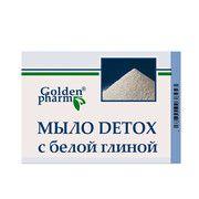 Мило DETOX з білою глиною 70г - Фото