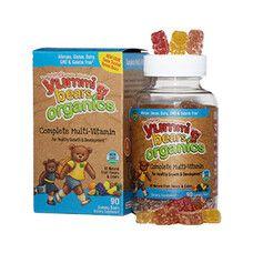 Органические витамины Мишки Ямми мультивитамины ТМ Хироу Нутришинал/Hero Nutritional №90