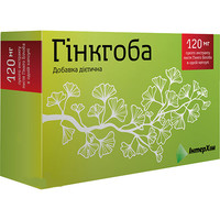 Гинкгоба капсулы 120 мг №60