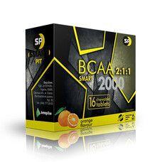 ВСАА смарт таблетки жевательные со вкусом апельсина 2000 мг №16