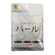 Курс натуральных масок для лица ТМ Джепен Гелс / Japan Gals с экстрактом жемчуга №7