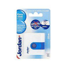 Зубна нитка-флос Jordan Easy Slide Fresh з воском і зубною пастою 25 м - Фото