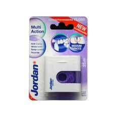 Зубна нитка-флос Jordan Multi Action з фтором 25 м - Фото