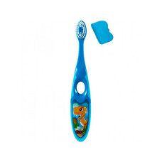 Дитяча зубна щітка з ковпачком для подорожей Jordan Step2 від 3 до 5 років - Фото