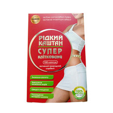 Диетическая добавка Жидкий Каштан супер клетчатка капсулы №100 по 700 мг