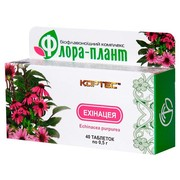 Флора-плант Эхинацея таблетки №40 - Фото