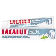 Лакалут Вайт зубна паста альпійська м'ята 75 мл  - Фото