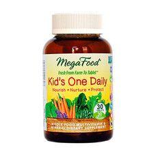 Мультивитамины Одна таблетка в день для детей ТМ Мегафуд / Megafood №30