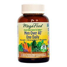 Мультивитамины Одна таблетка в день для мужчин после 40 ТМ Мегафуд / Megafood №30