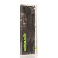 Зубная щетка Мегасмайл Блек Вайтенинг 2 шт в упаковке
