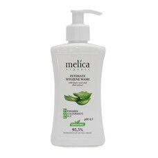 Средство для интимной гигиены ТМ Мелиса Органик / Melica Organic с молочной кислотой и экстрактом алоэ 300 мл