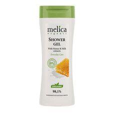 Гель для душа ТМ Мелиса Органик/Melica Organic с медом и молоком 250мл