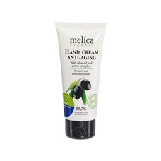 Крем для рук омолаживающий ТМ Мелиса Органик / Melica Organic с оливковым маслом и активными компонентами 116 мл