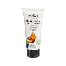 Крем для рук питательный ТМ Мелиса Органик / Melica Organic с аргановым маслом и пантенолом 100 мл