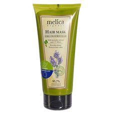 Маска для окрашенных волос ТМ Мелиса Органик / Melica Organic с экстрактом лаванды и УФ-фильтрами 200 мл