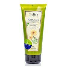 Маска питательная для волос ТМ Мелиса Органик/Melica Organic с растительными экстрактами и пантенолом 200мл