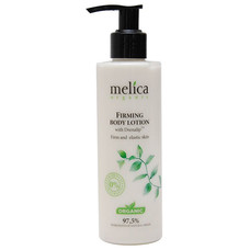 Молочко для тела для упругости кожи ТМ Мелиса Органик / Melica Organic с Drenalip TM 200 мл