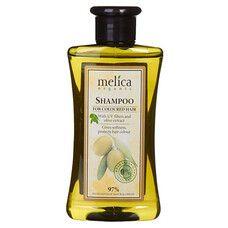 Шампунь ТМ Мелиса Органик / Melica Organic для окрашенных волос с УФ-фильтрами и экстрактом оливок 300 мл