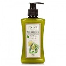 Бальзам-кондиционер ТМ Мелиса Органик/Melica Organic для окрашенных волос с УФ-фильтрами и экстрактом оливок 300мл