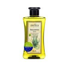 Шампунь ТМ Мелиса Органик / Melica Organic Здоровый блеск с протеинами пшеницы и экстрактом алоэ 300 мл