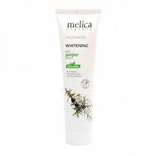 Зубная паста отбеливающая с экстрактом можжевельника ТМ Мелиса Органик / Melica Organic 100 мл