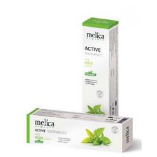 Зубная паста отбеливающая с экстрактом мяты ТМ Мелиса Органик / Melica Organic 100 мл