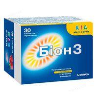 Витамины для детей Бион3 Кид таблетки N30 - Фото