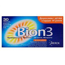 Бион3 таблетки N30 - Фото