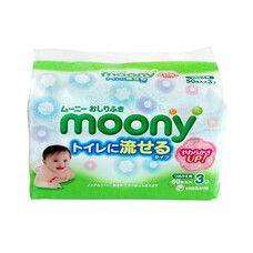 Салфетки детские влажные ТМ Муни / Moony №150