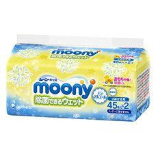 Салфетки детские влажные ТМ Муни / Moony №90