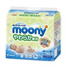 Салфетки влажные для ягодиц деликатные ТМ Муни / Moony №240