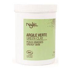 Порошок зеленої глини для жирної та комбінованої шкіри Najel 1 кг - Фото