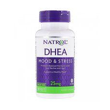 Дегидроэпиандростерон DHEA 25 мг ТМ Natrol / Натрол 180 таблеток - Фото