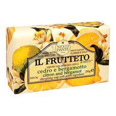 Мыло ТМ Нести Данте/Nesti Dante Фруктовое Лимон и Бергамот 250 гр
