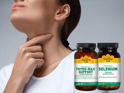 Селен актив при щитовидці: як приймати