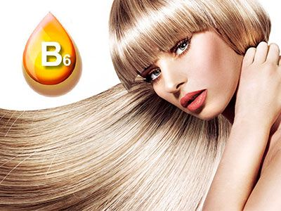 Лікування волосся вітаміном В6