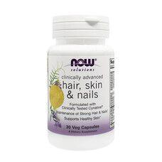 Вітаміни для волосся, шкіри і нігтів (Clinically Advanced Hair, Skin & Nails) ТМ Нау Фудс / Now Foods №30 (19113373) - Фото