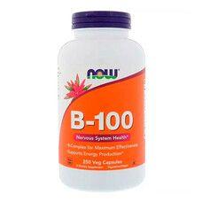 B-Комплекс 100 B-100 Now Foods 250 вегетаріанських капсул - Фото