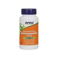 Ашваганда (Ashwagandha) 450 мг ТМ Нау Фудс / Now Foods 90 гелевих капсул